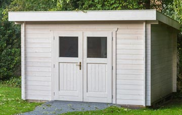Wickham St Paul garden shed costs