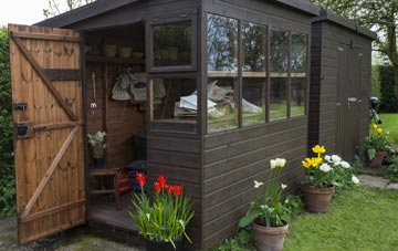 garden sheds Wickham St Paul, Essex